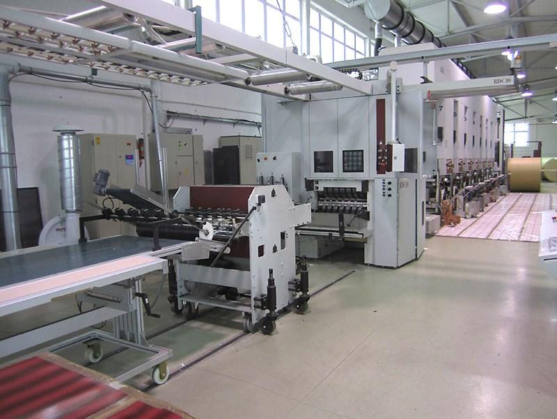ATENA ROTOGRAVURE MACHINE WITH RDC10 ROTARY DIE CUTTER