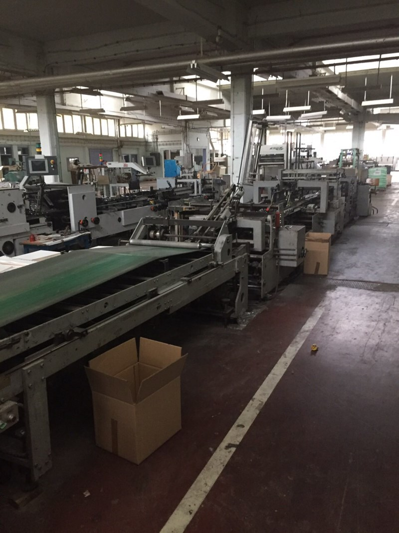 Show details for Bobst DOMINO 100-M