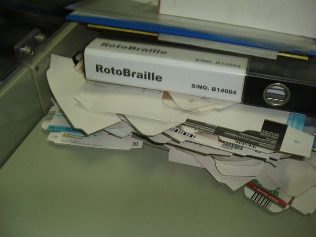 RotoBraille rotary embosser