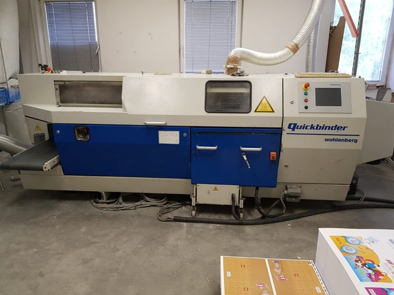 Show details for Wohlenberg Quickbinder with PUR