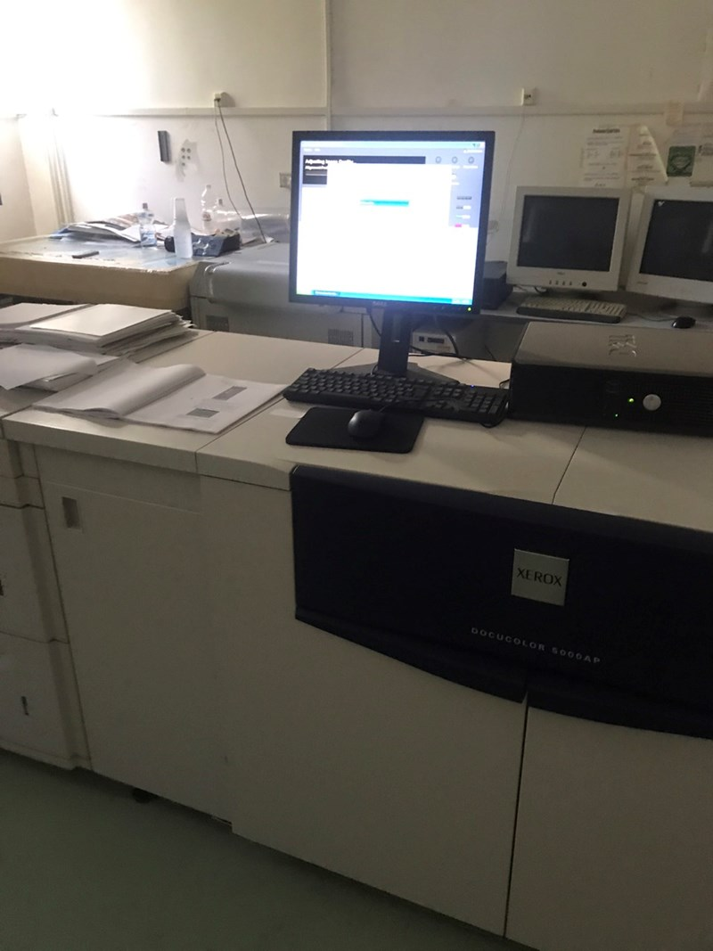 Show details for Xerox DocuColor 5000 AP