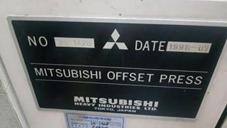 Mitsubishi 3H-4 Sheet Fed