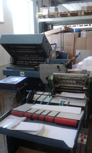 Herzog Heymann model M7 FIV Folding Machines