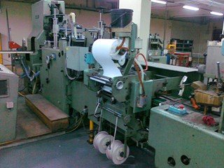 Kolbus Compact 40 Hard Cover Book production