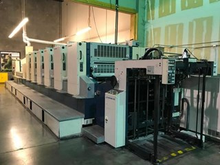 Printing machine 6-col.sheet-fed offset presses Sheet Fed