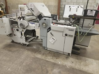 Heidelberg Finishing Stahlfolder Ti 40/4 Folding machines