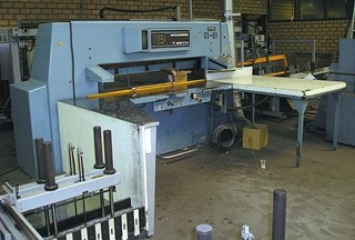 Wohlenberg 155 MCS-3 TV Guillotines/Cutters