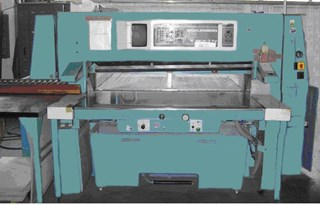 Wohlenberg 155 MCS-3 TV Trim-O-Mat Guillotines/Cutters