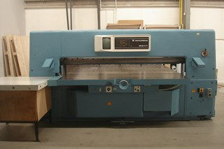 Wohlenberg 220 MCS 3 TV Guillotines/Cutters