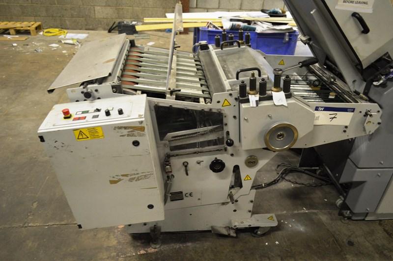 Show details for Heidelberg Finishing Stahlfolder VSA.3-66 MKE