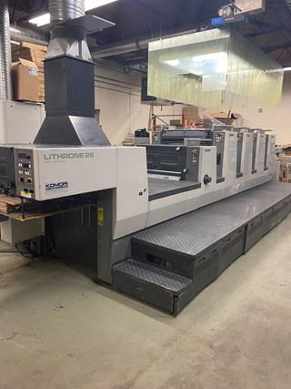 Komori Lithrone NL-428C Sheet Fed