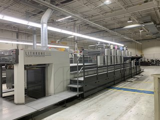 2007 Komori Lithrone LS640C Sheet Fed