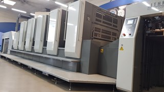 Komori Lithrone GL-540 HC  Machines offset à feuilles