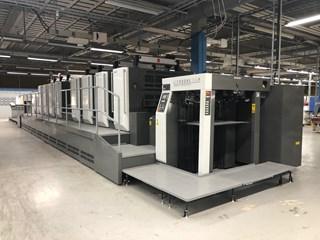 Komori Lithrone L-40/LS-40/GL-40/GS-40 Sheet Fed