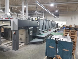 Heidelberg Speedmaster SM 102-10P Sheet Fed