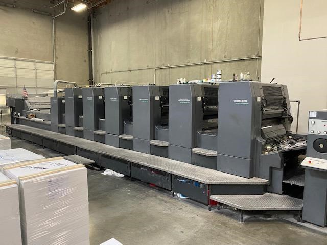 Heidelberg CD 102-6 Coater