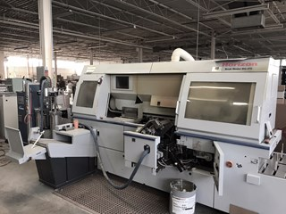 2011 Horizon Model BQ-470 Automatic 4 Clamp Perfect Binding System  Perfect Binders