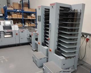 2012 Horizon Stitchliner SL-5500 Binding machine