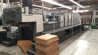 Komori Lithrone L-628-CX Sheet Fed