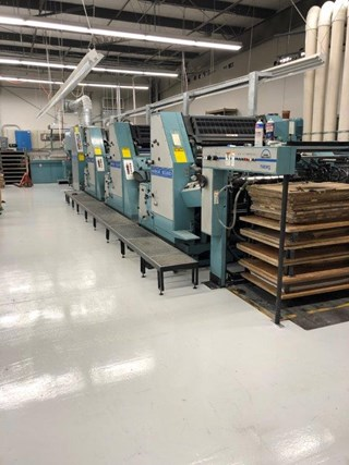 Manroland 40 6C Sheet Fed