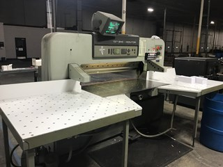 1992 Polar Model 137-EMC Mon Guillotines/Cutters