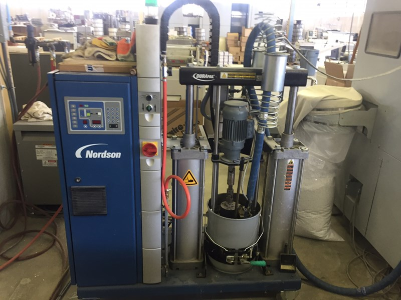 2011 Horizon Model BQ-470 Automatic 4 Clamp Perfect Binding System