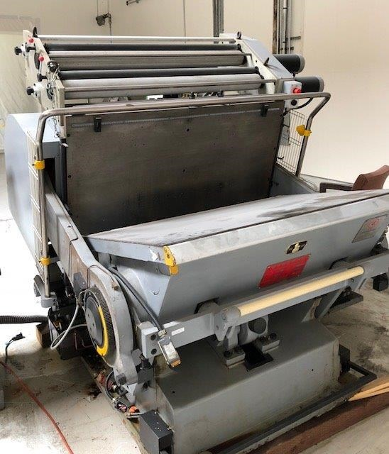 2002 Yawa TYMB 1040 Clam Shell Die Cutter with Foil Stamping