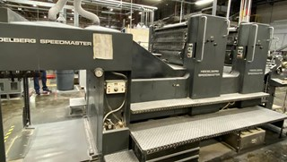 Heidelberg SM 102ZP Sheet Fed