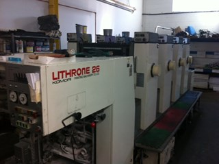 Komori Lithrone L426 Sheet Fed