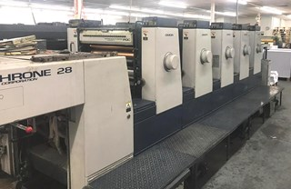 Komori New Lithrone 528 Sheet Fed
