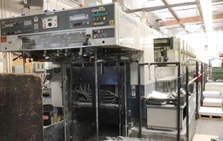 Komori L640+CX Sheet Fed