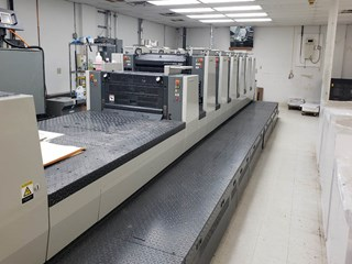Komori 628+C Sheet Fed