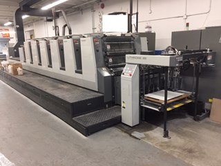 Komori Lithrone L628+CX Sheet Fed