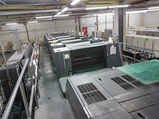 Heidelberg SM XL 105-6+L Sheet Fed