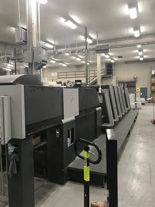 2008 Heidelberg XL75-6P+LX (F) Sheet Fed