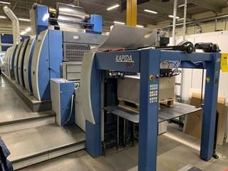 KBA Rapida 105-8+L SW4 ALV2 单张纸胶印机