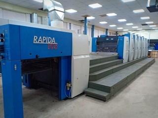 KBA Rapida 105-6+L ALV2 CX Gebrauchte Bogenoffsetmaschinen