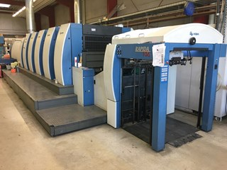 KBA Rapida 106-5+L ALV2 CX UV/IR Sheet Fed