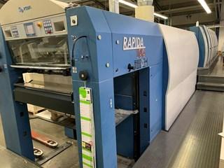 KBA Rapida 106-6+L SIS SPC ALV2 CX FAPC Sheet Fed