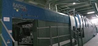 KBA Rapida 145-6+L SAPC ALV3 Gebrauchte Bogenoffsetmaschinen
