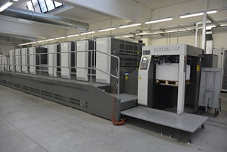 Komori GL840 HPC HUV Sheet Fed