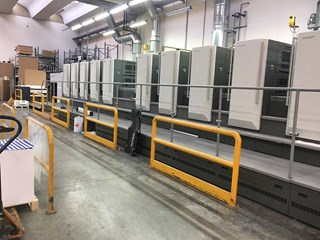 2011 Komori GL1040P HR-UV Sheet Fed