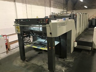 Komori Lithrone LS-529 EM Sheet Fed