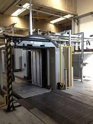 2005 Krifft & Zipsner E190RL Large Format Pile Turner Pile turner / elevator
