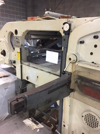 Bobst SP 1260 Die Cutters - Automatic and Handfed