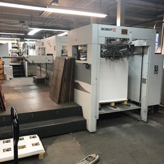 Bobst SPeria 106E Die Cutters - Automatic and Handfed