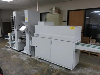 Bourg BDF Document Finisher Booklet production
