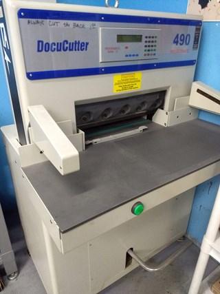 "Duplo DC490P 29"" Paper Cutter Guillotines/Cutters"