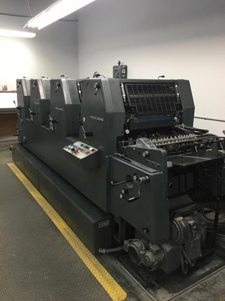 Heidelberg GTOV-52 Sheet Fed
