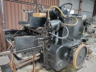 """Heidelberg """"S"""" Cylinder Autres machines"""
